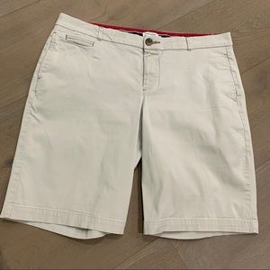 Dockers stretch shorts tan